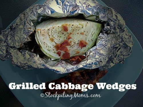 Grilled Cabbage Wedges are packed full of goodness and simple to make!