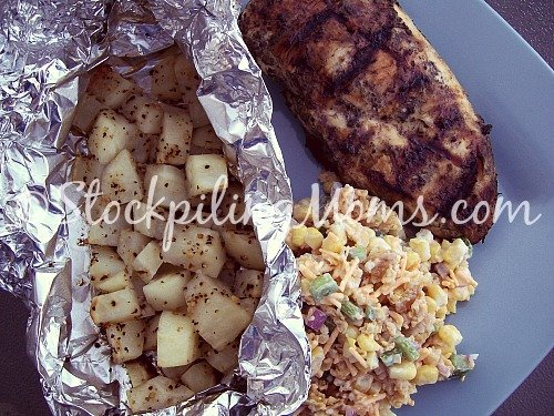 Grilled Italian Chicken Breasts are super tasty and perfect for summer time!