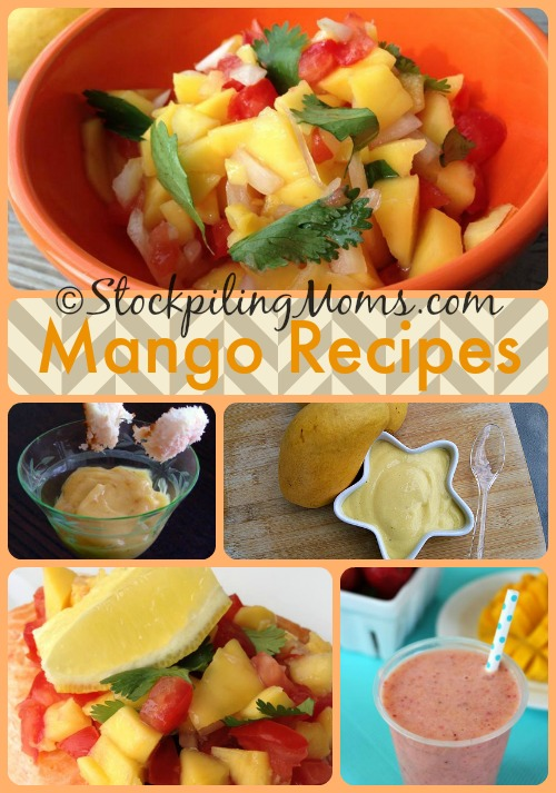 ©StockpilingMoms.com #Mango Recipes