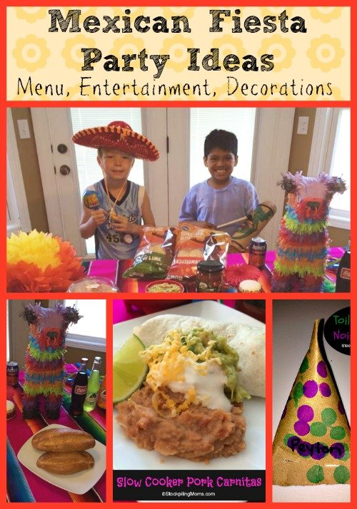 Amazing Mexican Themed Dinner Party Ideas Part - 7: Stockpiling Moms