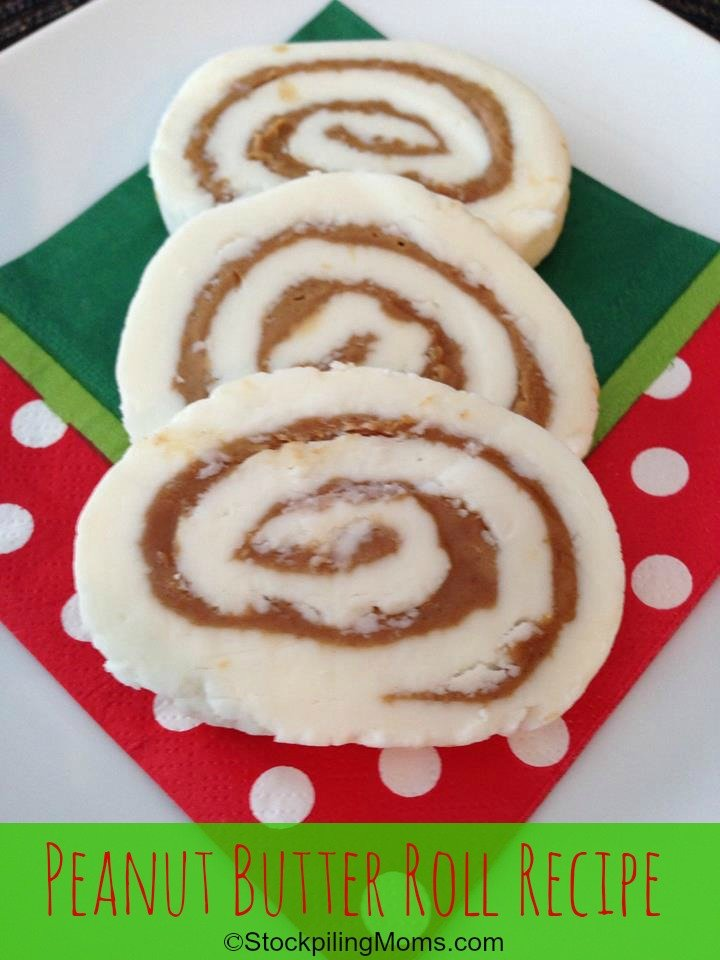 Peanut Butter Roll Recipe is my Dad's favorite candy of all time! It is not Christmas without it!