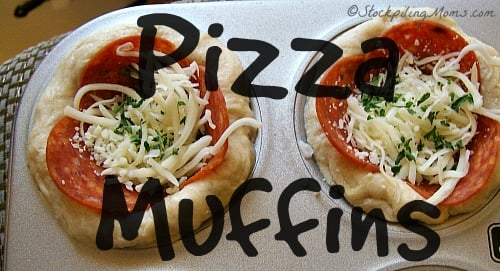 Pizza Muffins are so easy to make!