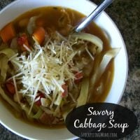 Savory Cabbage Soup3