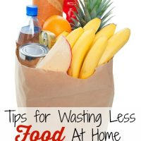Tips for Wasting Less Food