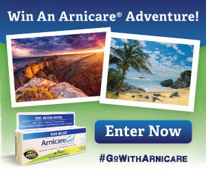 Arnicare Adventure Sweepstakes