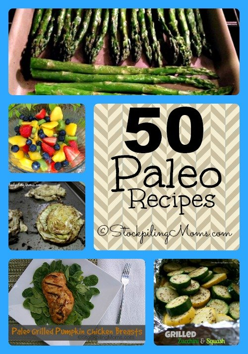 50 Paleo Recipes Collage