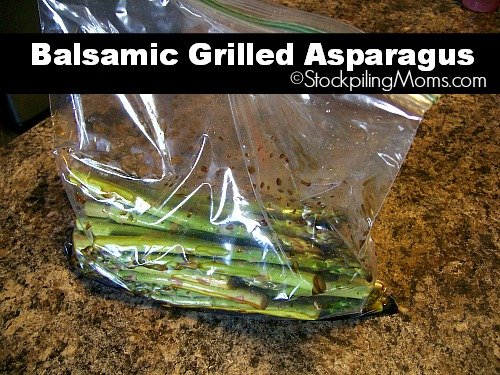 Balsamic Grilled Asparagus is full of such great bold taste that you will want more and more!