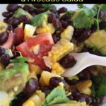 Black Bean, Corn, Tomato & Avocado Salad