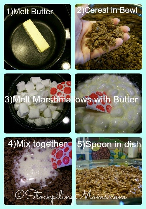 Crispy Cocoa Rice Treats directions!