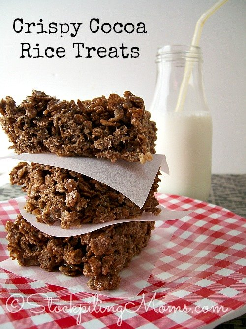 Crispy Cocoa Rice Treats are the perfect dessert for any occasion! #dessert