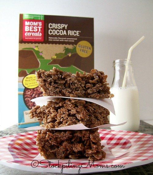 Easy Crispy Cocoa Rice Treats that everyone will love!