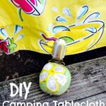 DIY Camping Tablecloth Holders