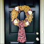 DIY Patriotic Burlap Wreath