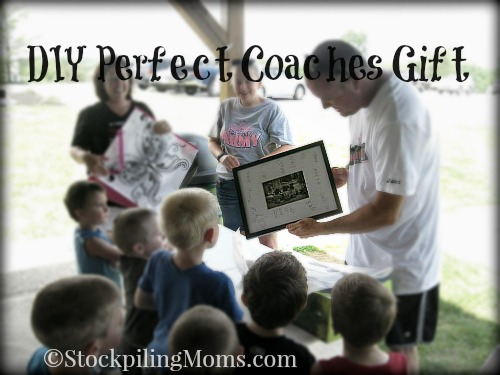 This is the Perfect Coaches Gift that cost less than $20! Easy to make as a DIY! It is a memory that will last your coach forever.