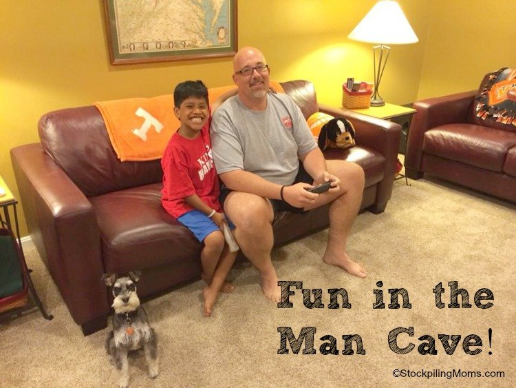 Fun in the Man Cave