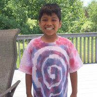 How to Tie Dye T-Shirts with Sugar
