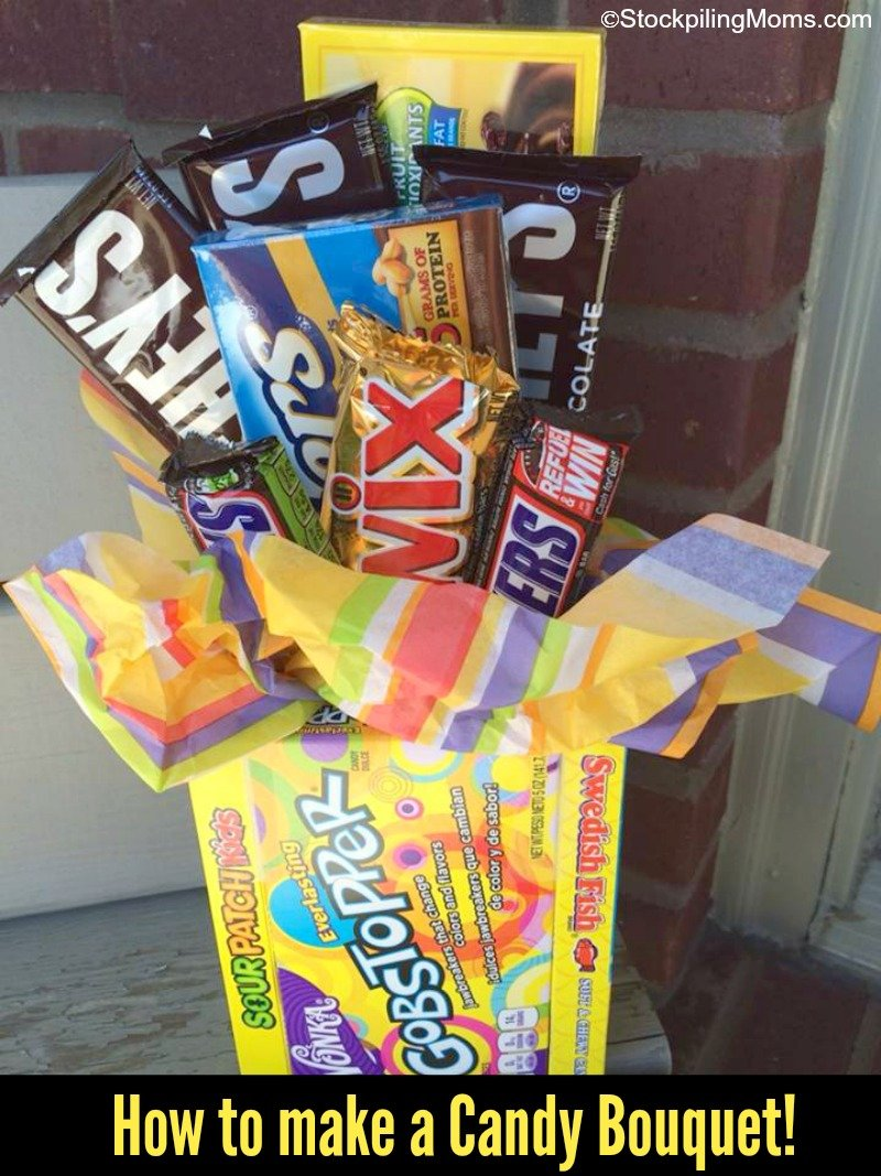 How to make a candy bouquet solutioingenieria Images