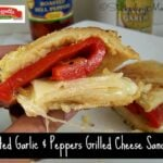 Roasted Garlic & Peppers Grilled Cheese Sandwich2