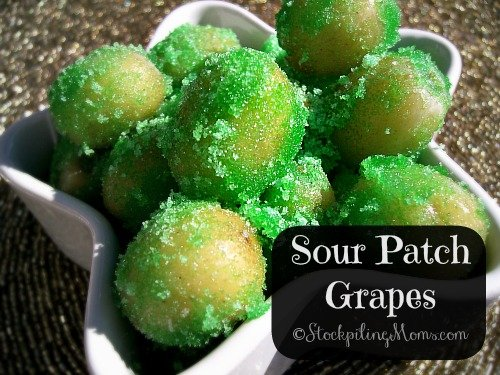 Sour Patch Grapes are the perfect summer time treat!