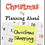 Take The Stress Out Of Christmas By Planning Ahead final