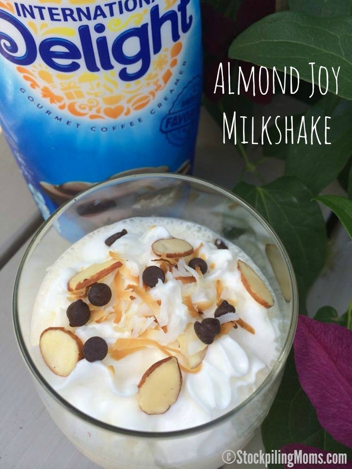 almond joy candy bars you are going to love this almond joy milkshake ...