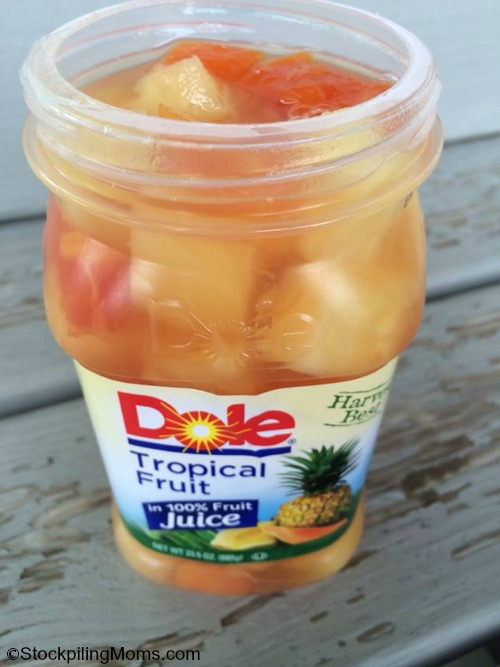 DOLE Fruit in Jars - is an easy breakfast or snack!