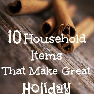 10 Household Items That Make Great Holiday Decorations