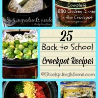 25 Back to School Crockpot Recipes