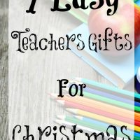7 Easy Teachers Gifts For Christmas