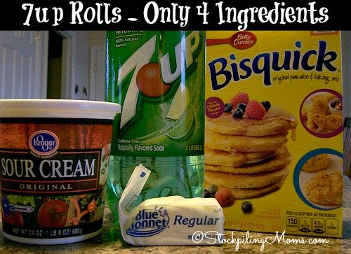 7up Rolls are amazing and you only need 4 ingredients! Perfect for busy nights!