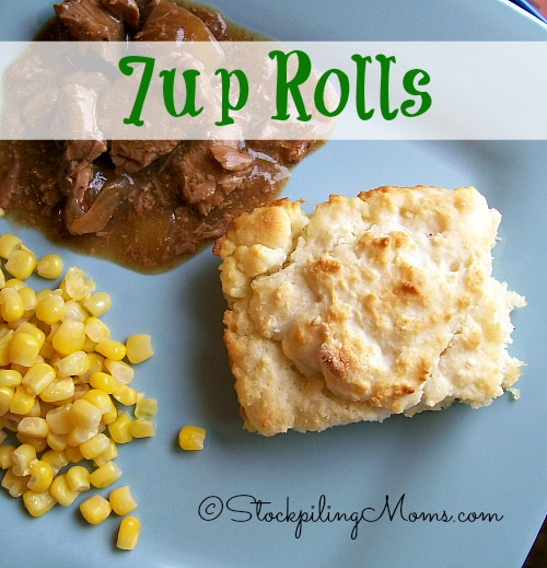 7up Rolls are amazing and you only need 4 ingredients! #easy #bread #recipe