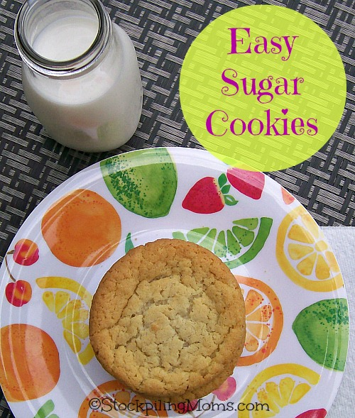 You will love this easy sugar cookie recipe! It tastes delicious and is simple to make.