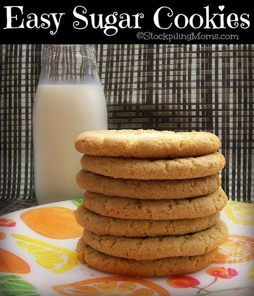 Easy Sugar Cookies2