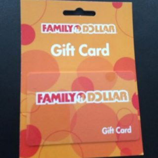$50 Family Dollar Gift Card Giveaway – CLOSED