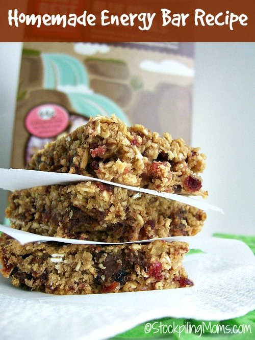 Homemade Energy Bar Recipe