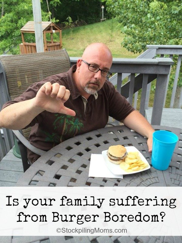 Is your family suffering from Burger Boredom
