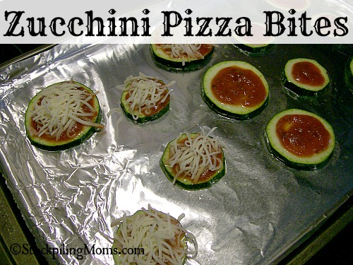 Zucchini Pizza Bites are simple to make and taste wonderful!