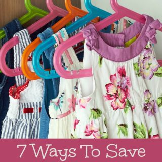 7 Ways To Save On Back To School Clothes