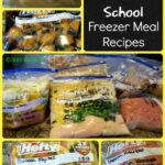 Back to School Freezer Meal Recipes