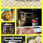 Crockpot Weekly Menu Plan