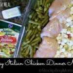 Easy Italian Chicken Dinner Meal