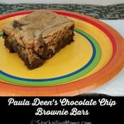 Paula Deen's Chocolate Chip Brownie Bars