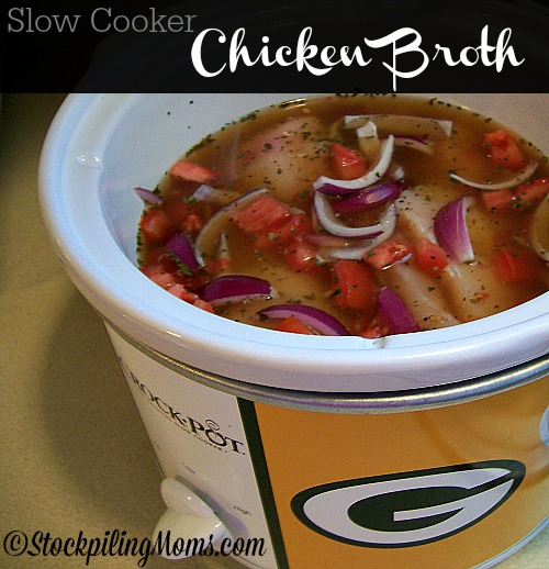 slow cooker chicken broth recipe is a great way to make chicken broth ...