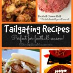 Tailgating Recipes Collage