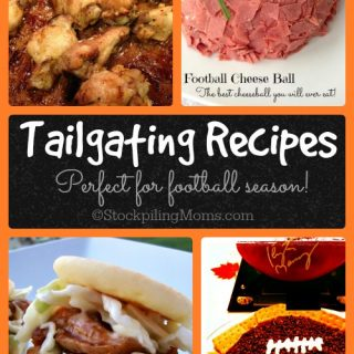 Tailgating Recipes Roundup