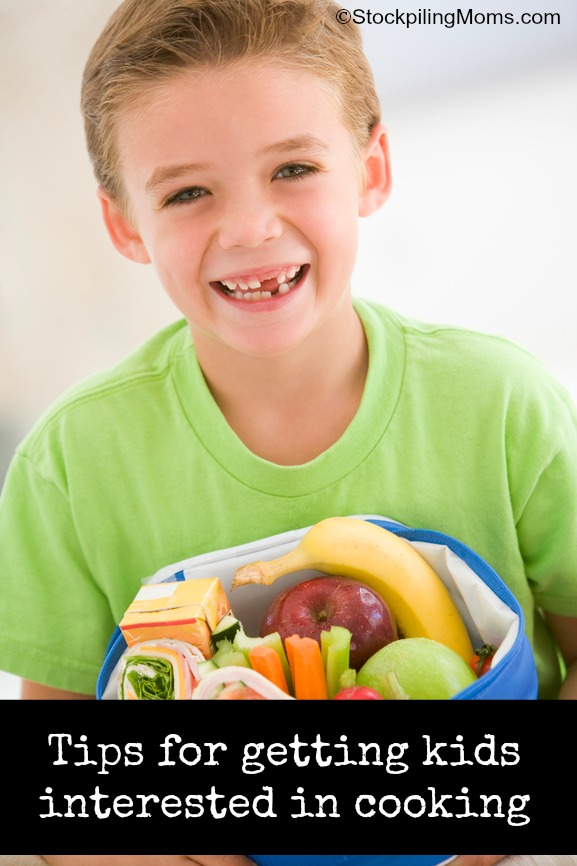 Tips for getting kids interested in cooking