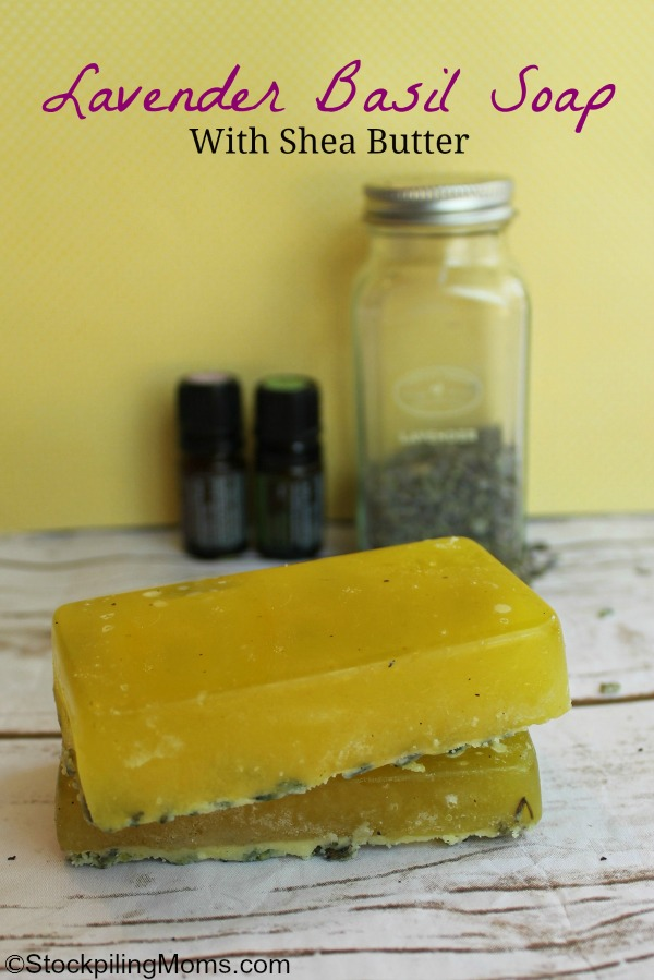 Lavender Basil Soap is easy to make and perfect for gift giving. It has some amazing therapeutic benefits too!