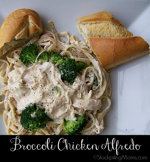 Broccoli Chicken Alfredo is such an easy dish, full of flavor and is very filling!