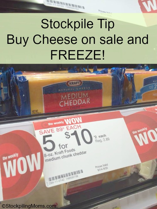 Can you freeze cheese?