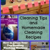 Cleaning Tips and Homemade Cleaning Recipes